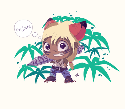 Young jungle hero_v.2 by ArtVooDooGirl