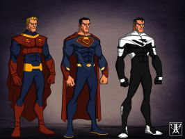 Superman Evolution 2 by WARBOUND-President