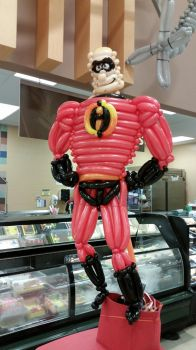 Mr. Incredible Balloon by DJdrummer
