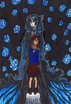 Evandalier Blackmouth and Persephone Homer by PeanutGallerySeth