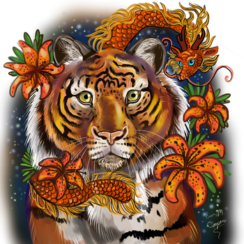 Chinese Year of the Tiger by Shadowind