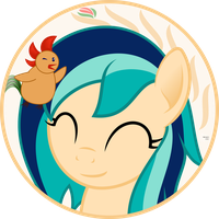Sapphire Breeze circle vector (Bday gift) by arifproject