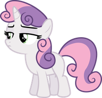 Sweetie Belle Not Intersting by illumnious