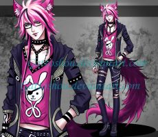 MALE ADOPT 80 [ Auction ] [ CLOSED ] by GattoAdopts