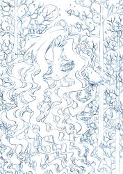rowena of the forest... sketch by sureya