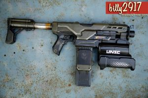 nerf demolisher halo by billy2917