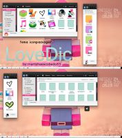 Theme Iconpackager LoveDic by maritzha89