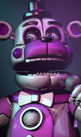 C4d | Funtime Freddy | Poster by Smiley-Facade
