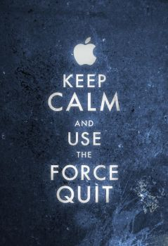 Keep Calm Mac User by FabledCreative
