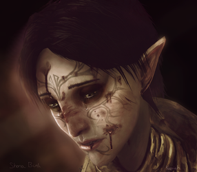 Merrill render model edit portrait by Kaeriah