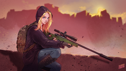 PUBG Wallpaper Engine Illustration by Hey-SUISUI