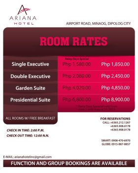 Room Rates by GoodMonkey