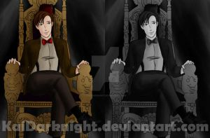 DW:Fez and Throne by KaiDarknight