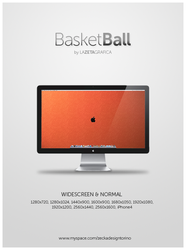 Wallpaper BasketBall Apple by redsoul90