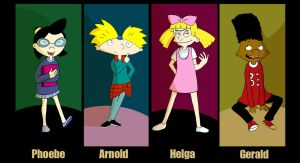 Hey Arnold by VenusKaio