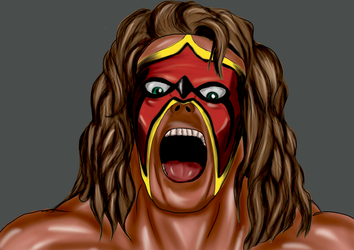 Ultimate Warrior by Luis3iguel