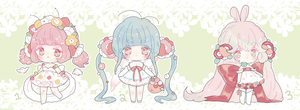 blooming garden fairy adopts | closed by Hacuubii