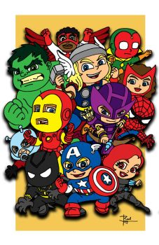 Avengers by dGREAT1