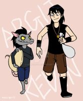 Kevin and Argit by 4eknight11