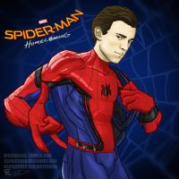 Spider-Man Homecoming by gscratcher