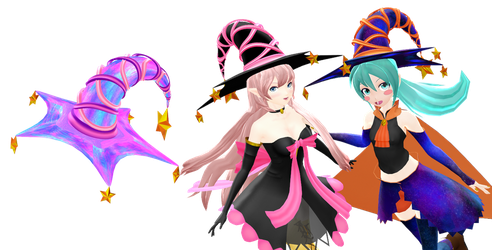 MMD DL : Witch Hat download by HoshichoM