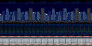 City Highway(Night Time) by JoonTH