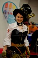 steampunk couture by claudi353
