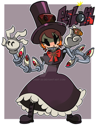Skullgirls Peacock Collab by Jamp-20
