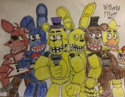 Fredbear and Friends 1983 by WitheredFreddy1993