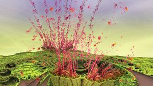 Eruptions of fractal seeds by janhein