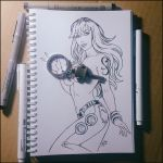 Sketchbook - Nami (NSFW on Patreon) by Candra
