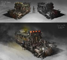 Survival Jeepney Concept by feenixfabay