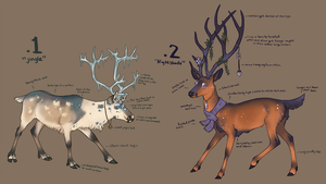 Deer adoptables (closed) by enfanir