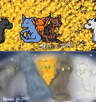 B and A: StarClan Watches Over You by shinx2eevee