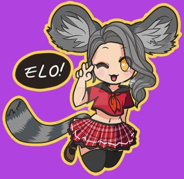 Teehee! [Blade and Soul] by elicottyn