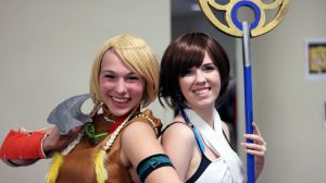 Girls of Final Fantasy! by geekypandaphotobox