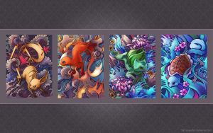 Pokemon Tattoo Wallpaper by TsaoShin