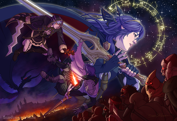Fire Emblem Awakening - Valor by SeanDonnanArt