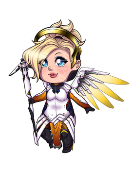 Mercy Charm by direndria