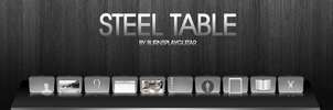 steel Table by burnsplayguitar