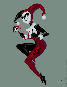 Harley Quinn Classic by Phil-G-Ramsay