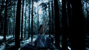 Gothic Forrest Fairy by chrbet