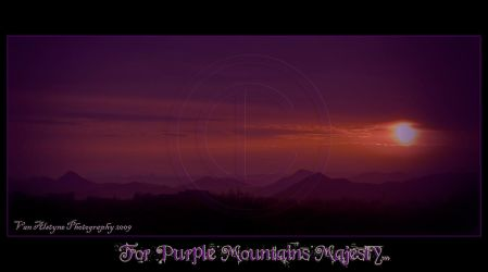 For Purple Mountains Majesty.. by Leicca
