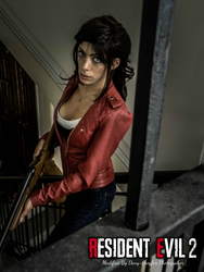 Claire Redfield resident evil 2 remake by greyfox by LilituhCosplay