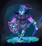 Cool Colors Hunter by IsaacChamplain