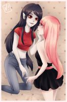 Marcy and PB by Vilyann