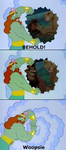 King Neptune beholds The Lion King! by EmilioKiara