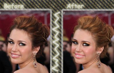 Miley Makeup 2 by YuliBieber
