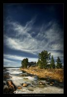 Thawing Ice at Arthur Island by tfavretto