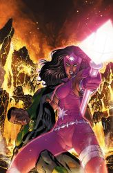 GREEN LANTERN CORPS 33 cover by PORTELA